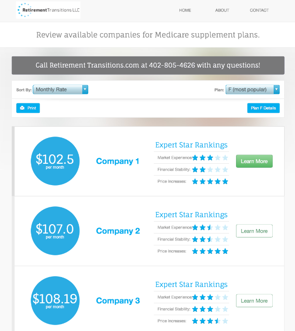 Compare Medicare Supplement Quotes
